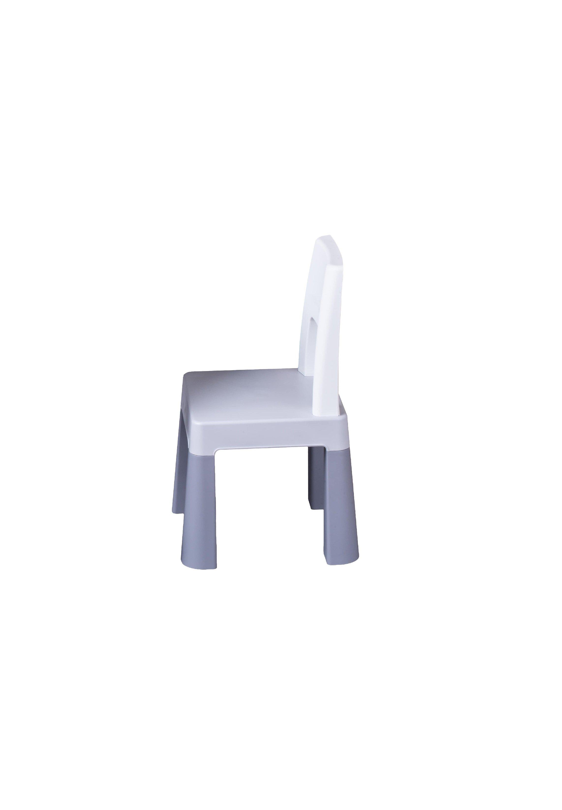 Židlièka ke stoleèku multifun šedá