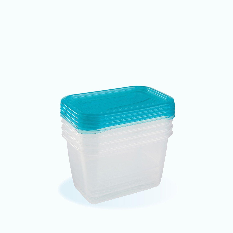 Plastové krabièky fredo 0.75 litru 4 ks