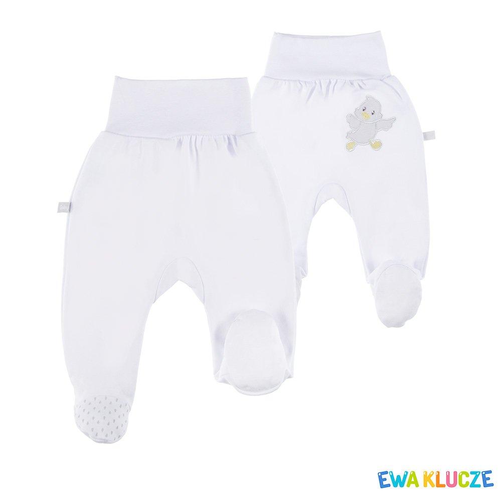 Kojenecké polodupaèky Newborn bílé 56