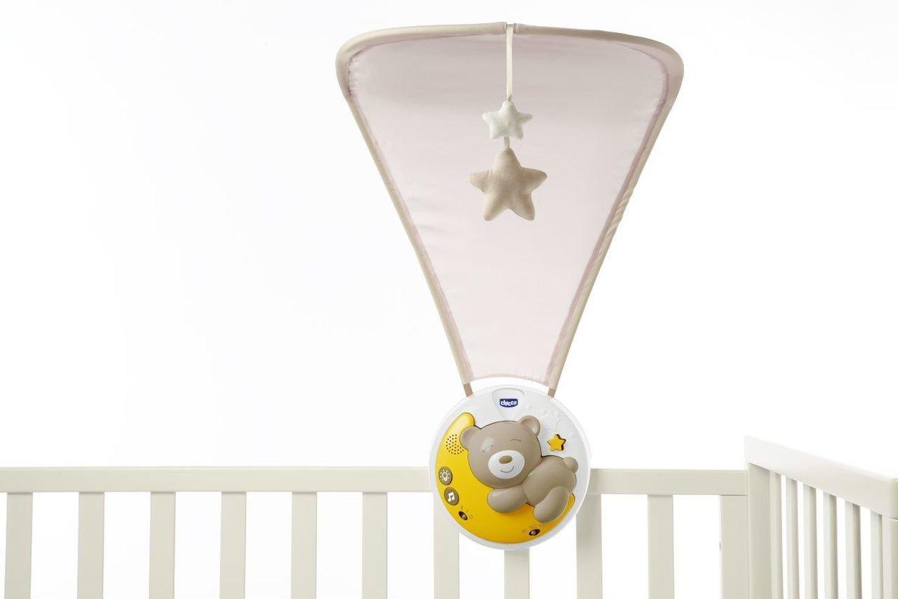 Projektor s baldachýmem Next 2 Moon šedá