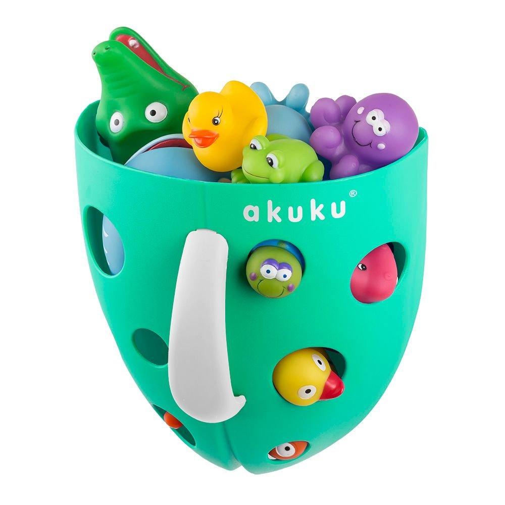 Box koš na hraèky do vany mátová