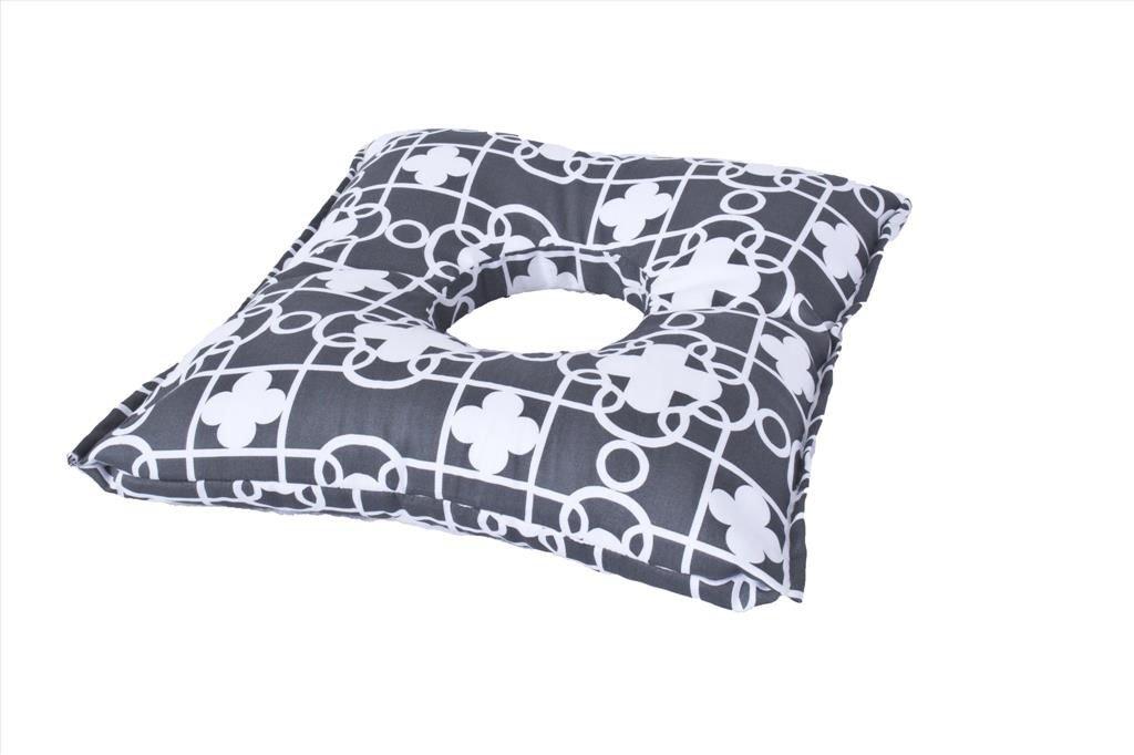 Poporodní polštáø OPONKA 50x45 cm èerno-bílá