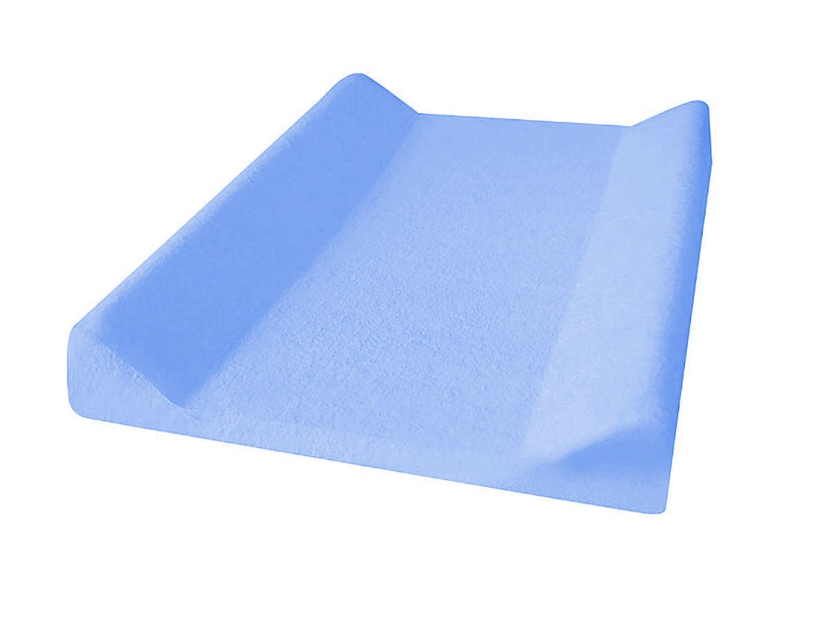 Potah na pøebalovací podložku bavlna 50/60x70/80 cm modrá