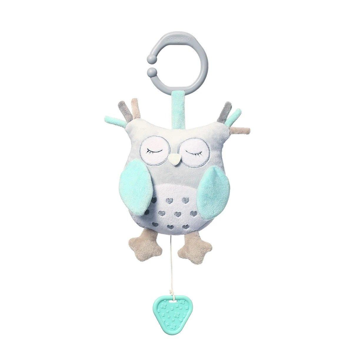Plyšová hraèka s klipem a vibrací OWL SOPHIA