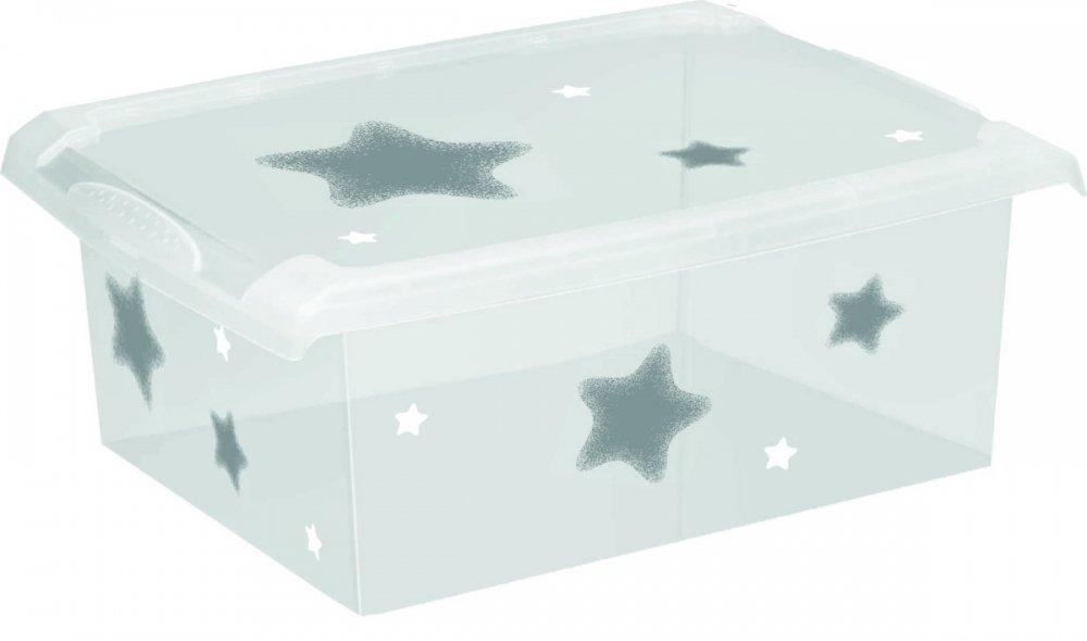 Úložný box na hraèky Fashion-Box Stars 10 litrù