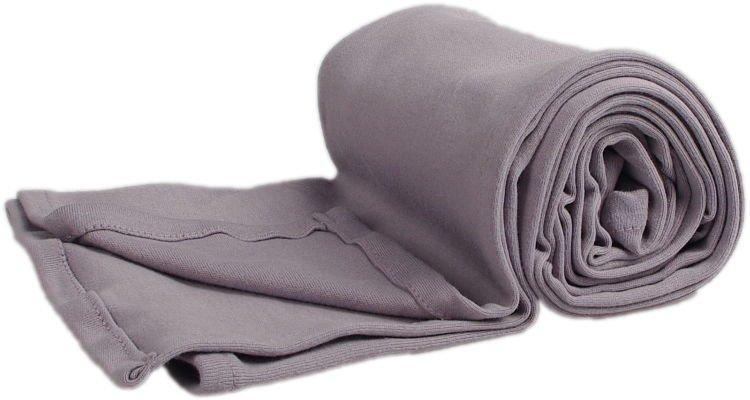Letní deka 100x150cm z biobavlny šedá