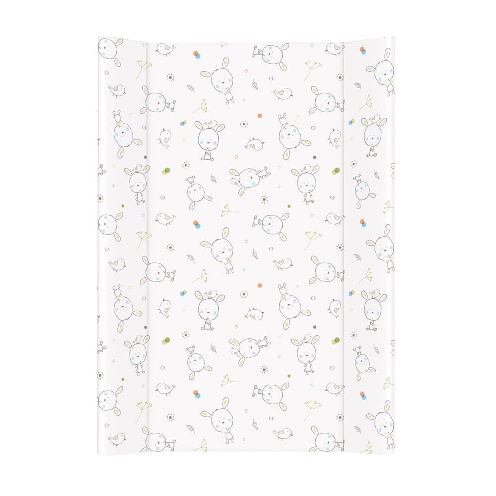 Pøebalovací podložka mìkká se zvednutými okraji 70x50 cm dream bílá