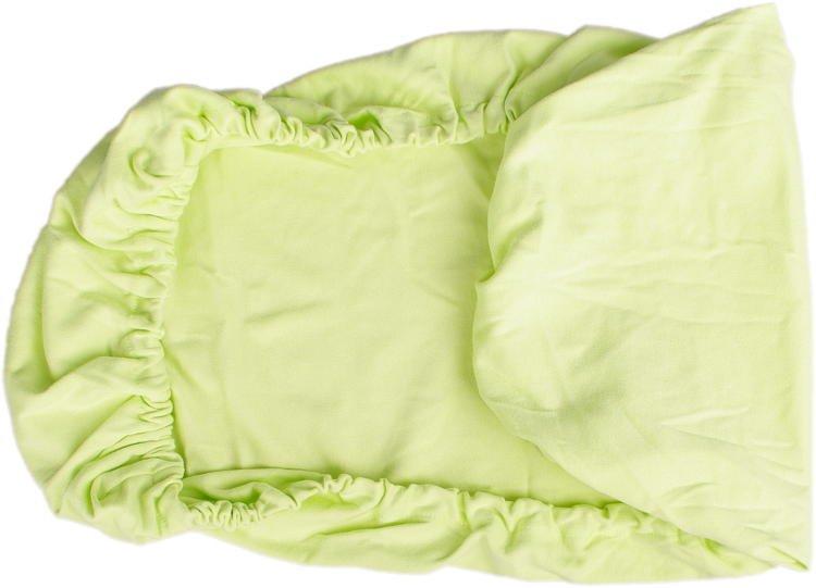 Zelené prostìradlo biobavlna 70 x 140 cm