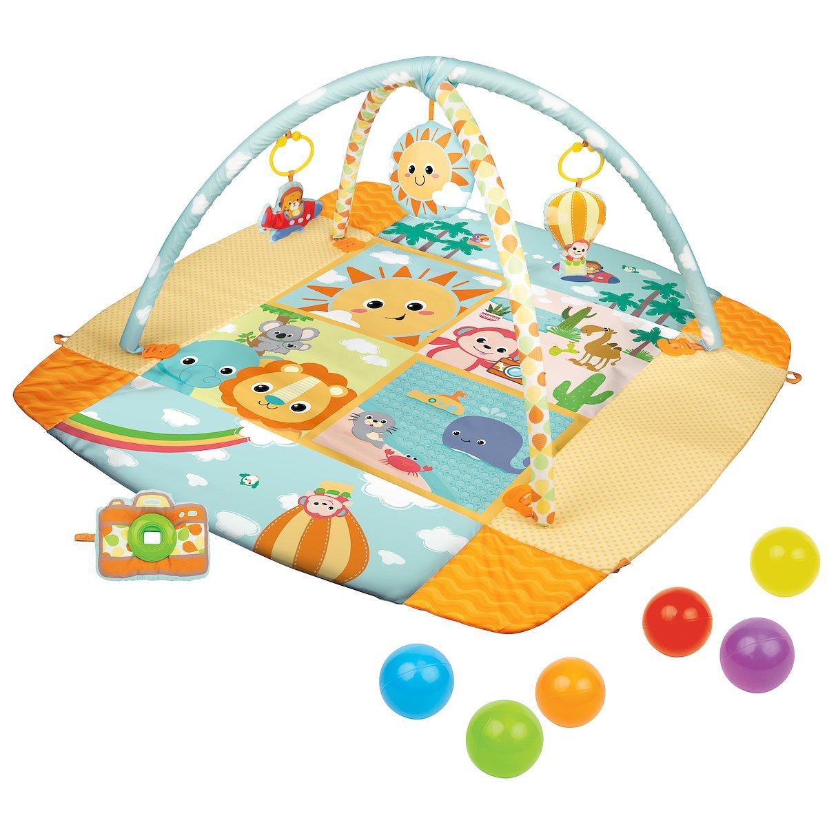 Hrací deka ètverec sluveèný den s možností ohrádky