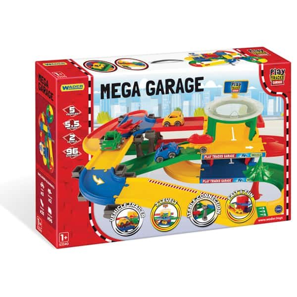 Mega garáž PLAY TRACKS 5.5 m 53140