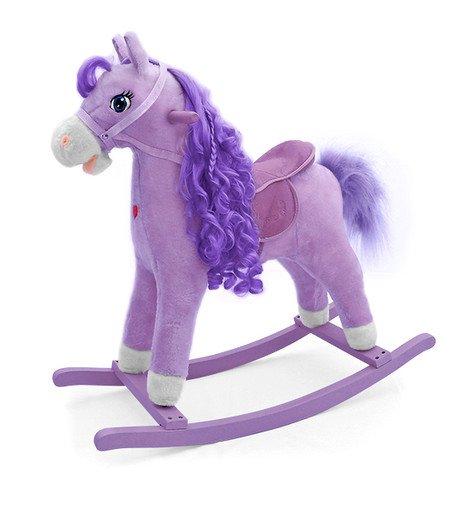 Houpací koník PRINCESS fialová