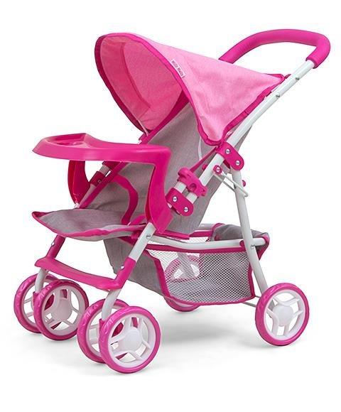 Koèárek pro panenky Kate Prestige pink