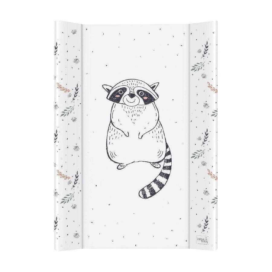 Pøebalovací podložka se zvednutými okraji mìkká 50x70 Raccoon