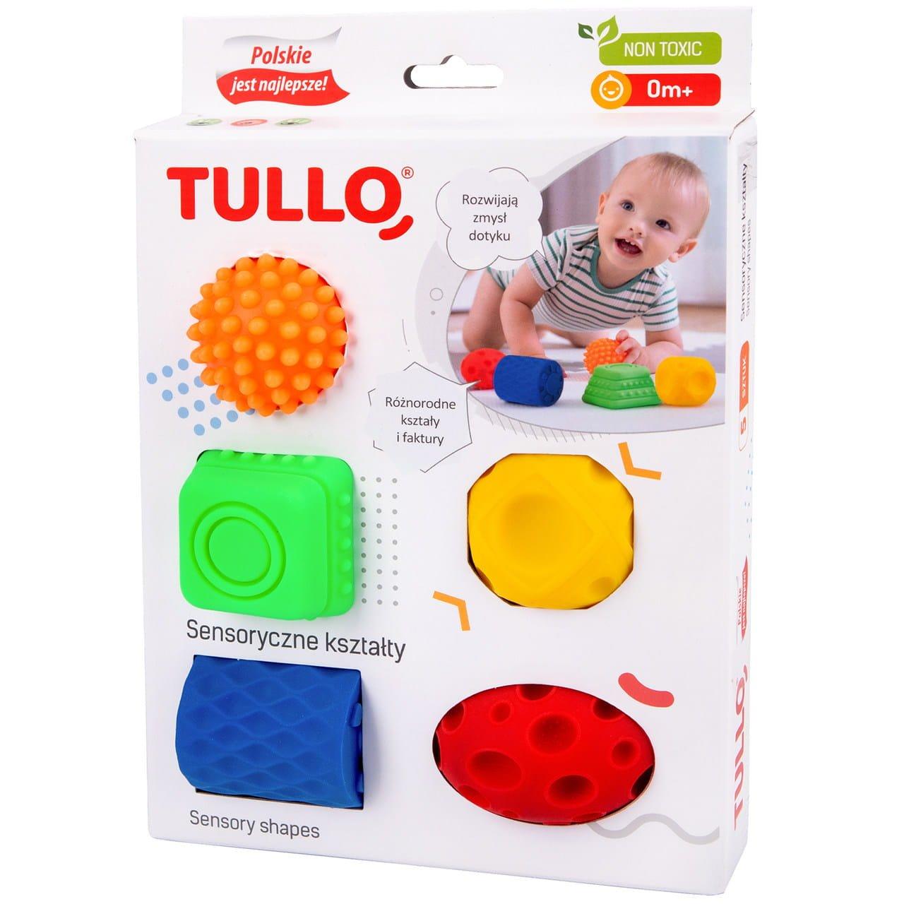 Senzorické hraèky tvary 5 ks