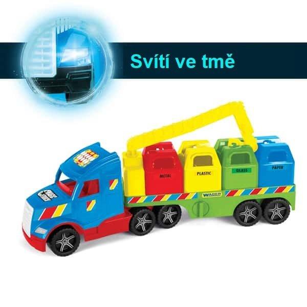 Magic Truck popeláøský vùz s recyklováním odpadu