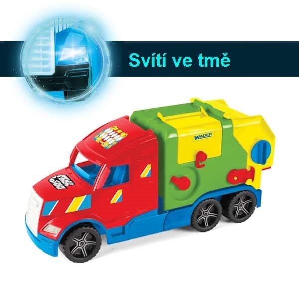 Magic Truck popeláøský vùz kontajner