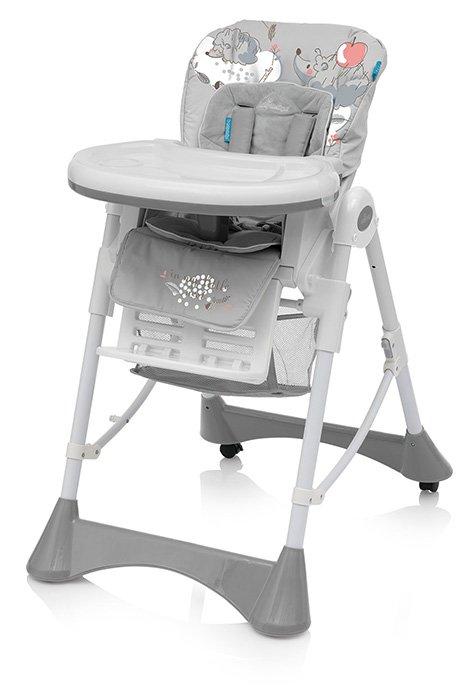 Jídelní židlièka PEPE 07 šedá