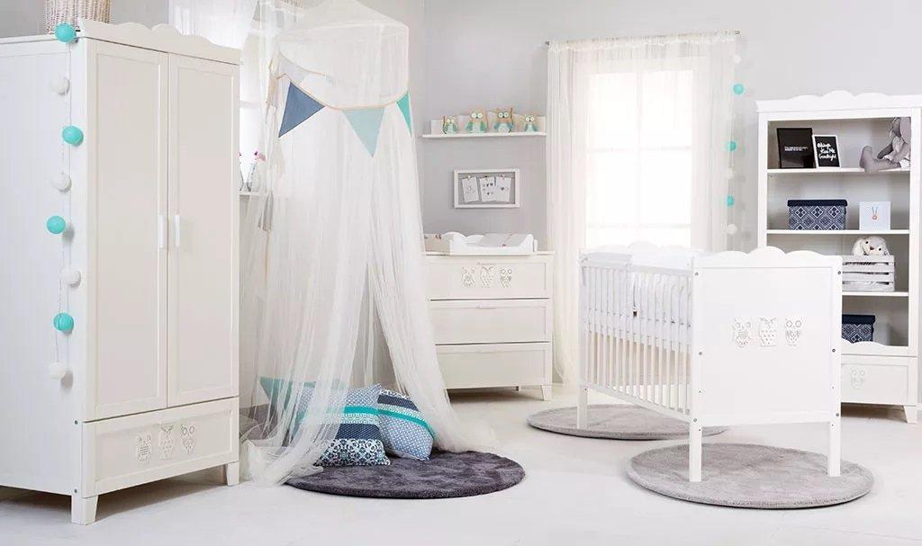 Dìtský pokoj MARSELL s postýlkou 140x70 cm bílý