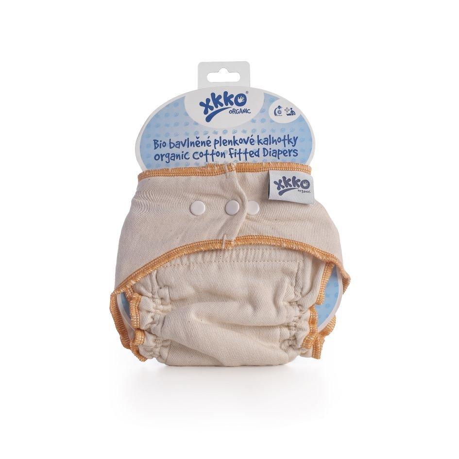 Bio bavlnìné plenkové kalhotky Organic Natural vel.S