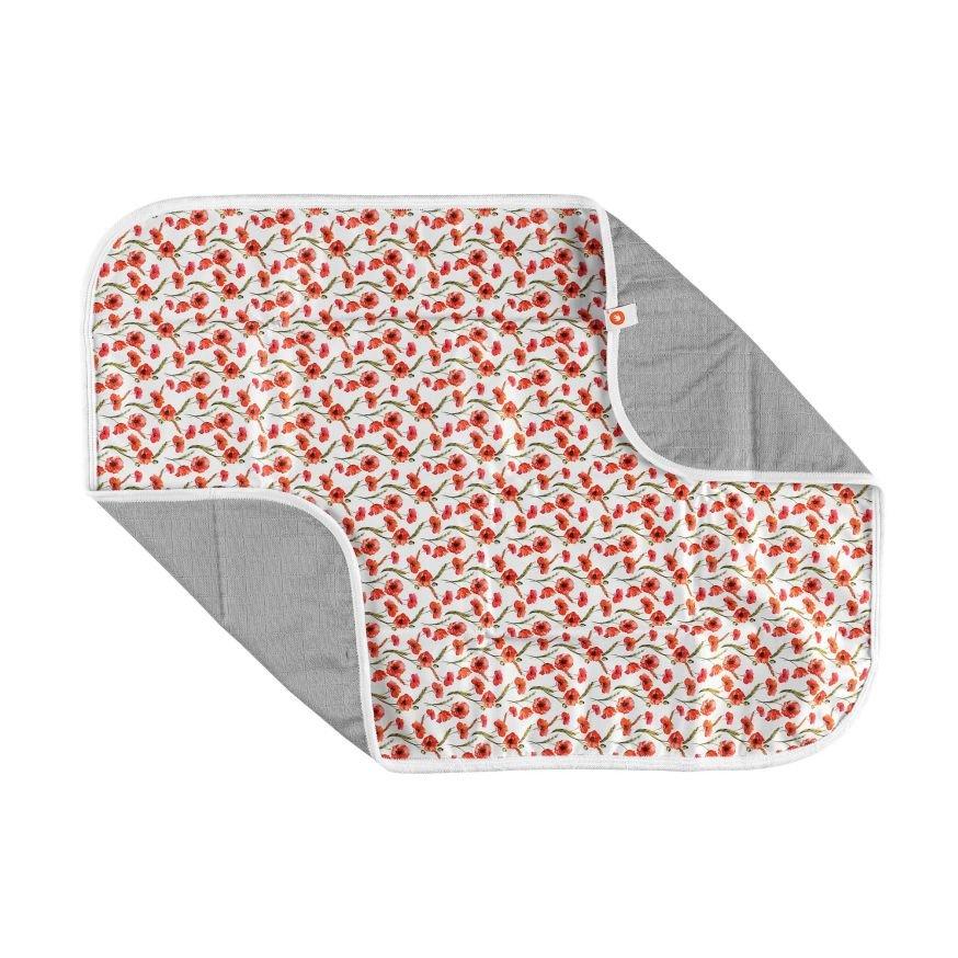 Pratelná pøebalovací podložka 50x70 cm Digi Poppies