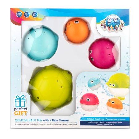 Sada kreativních hraèek do vody s deš�ovou sprchou OCEÁN 4ks