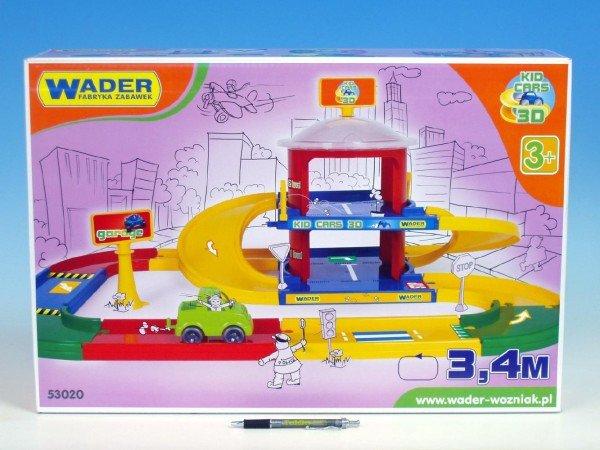 Kid cars 3D garáž 2 patra 3.4 m 53020