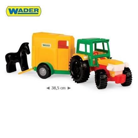Traktor s vleèkou pro konì 35001