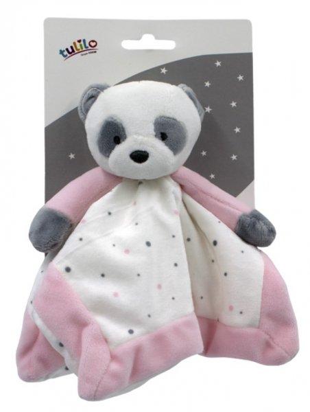 Plyšová hraèka panda 25 cm rùžová