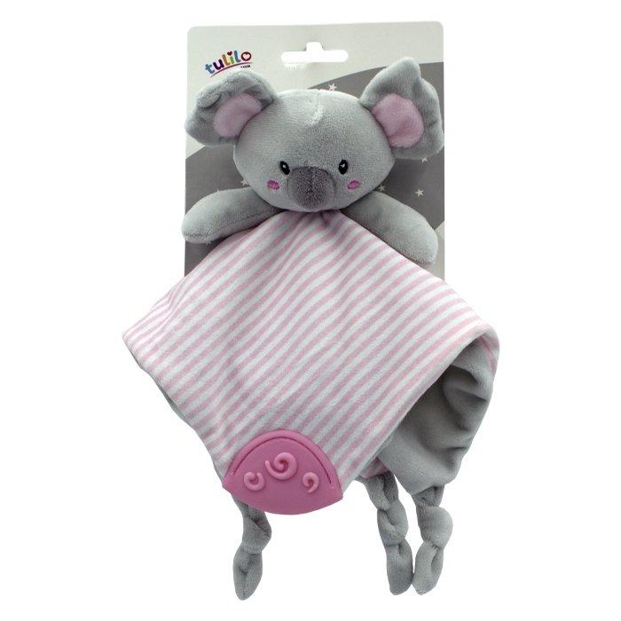 Plyšová hraèka pøítulníèek Koala 25cm rùžová