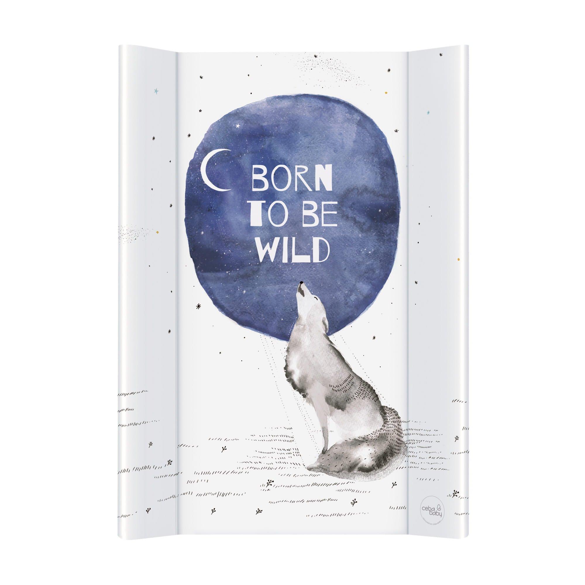 Pøebalovací podložka 2-hranná mìkká 50x70 cm Born to be wild