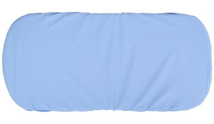 Prostìradlo do koèárku bavlna 35x75 cm modrá