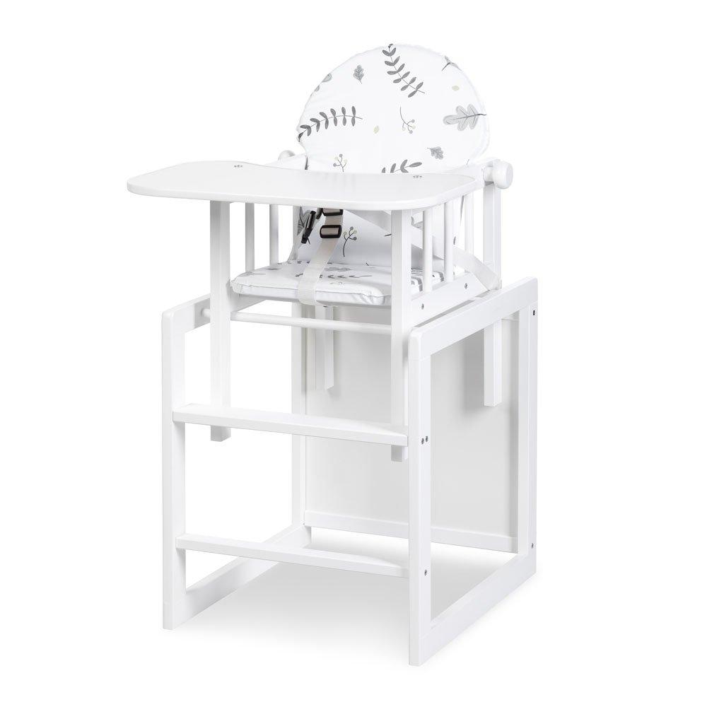 Jídelní židlièka døevìna LILY bílá