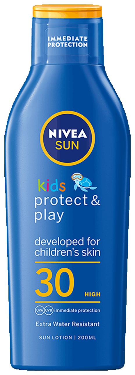 Hydrataèní mléko na opalování Sun Kids Caring  OF 30+ 200 ml