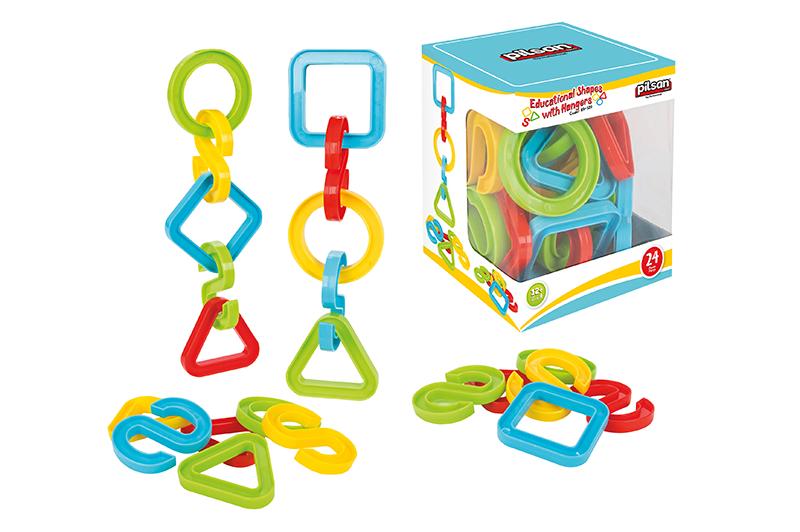 Edukaèní hraèka tvary 24 ks