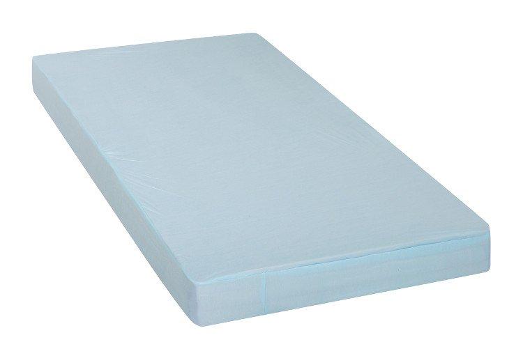 Prostìradlo a chrániè matrace 2v1 41x90 cm modrá