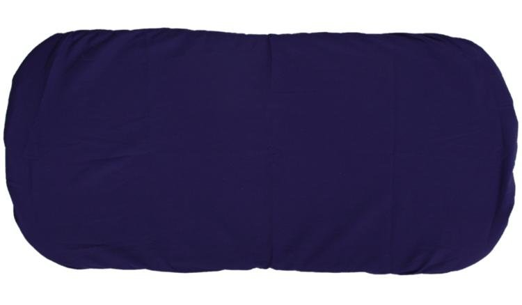 Bavlnìné prostìradlo do koèárku 35x75 cm tmavì modrá