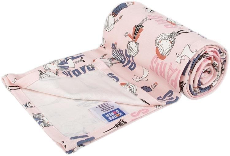 Letní deka 70x100cm bavlna rùžová Paøíž
