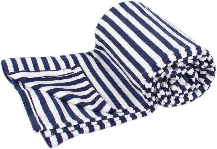 Letní deka 100x160cm námoønické proužky