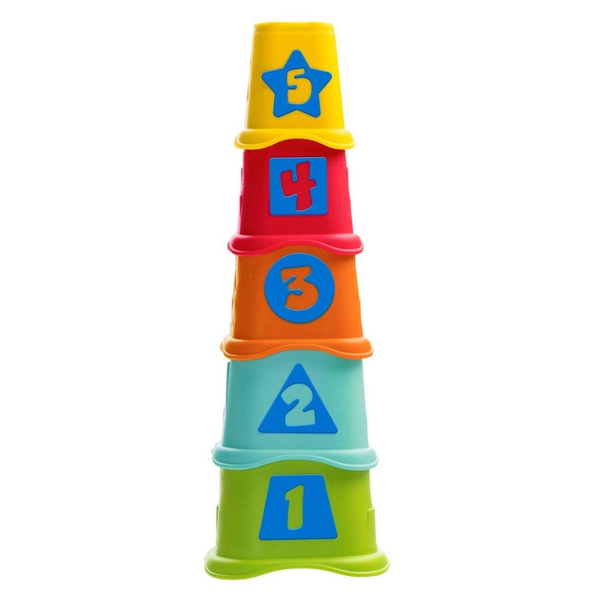 Pyramida stohovací kelímky 5 ks 2v1