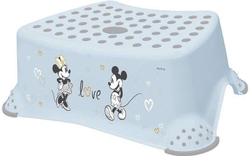 Protiskluzový stupínek stolièka Mickey Mouse svìtle modrý