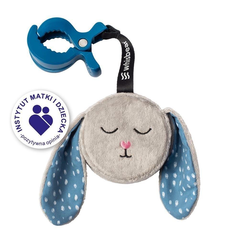Šustící hraèka s klipem králík šedá
