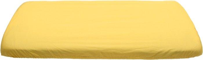 Žluté prostìradlo bavlnìné plátýnko 70 x 160 cm