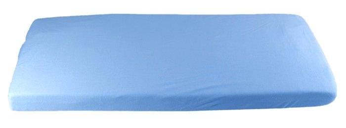 Modré prostìradlo bio-bavlna 70 x 160 cm