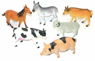 Zvíøata domácí - jednotlivá zvíøata 1ks (farma)