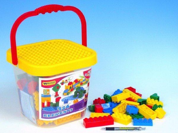 Kbelík s plastovými kostkami mini 41340