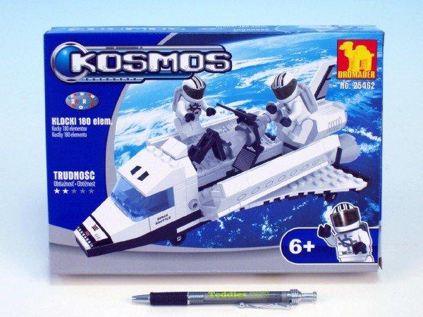 Stavebnice Dromader Kosmický Raketoplán 25462 180ks v krabici 25