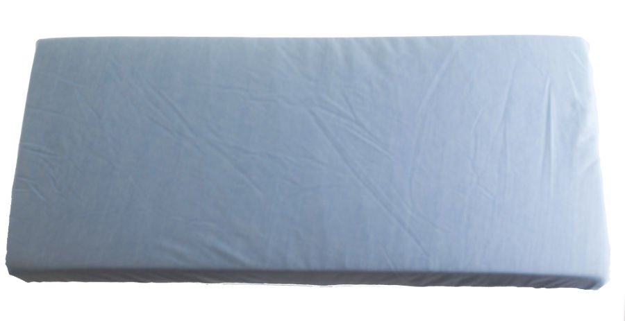 2v1 Modré prostìradlo 70x140cm a chrániè matrace