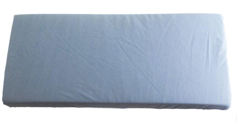 2v1 Modré prostìradlo 80x200cm a chrániè matrace