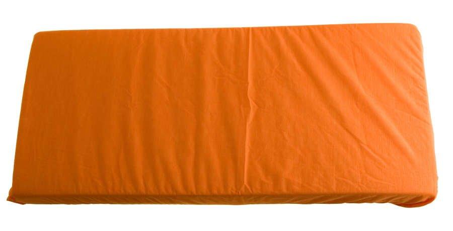 2v1 Oranžové prostìradlo 140x200cm a chrániè matrace