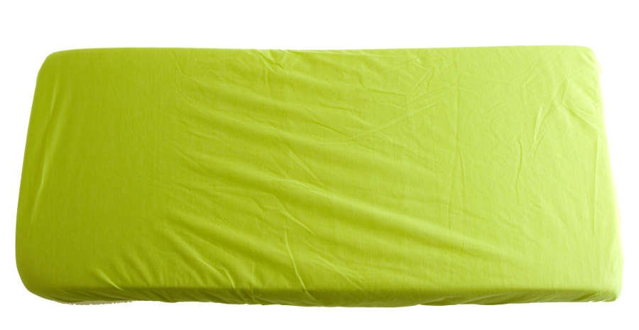 2v1 Zelené prostìradlo 90x200cm a chrániè matrace
